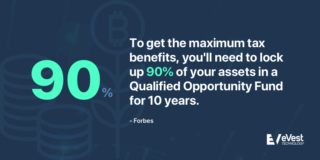 Lock 90% assets inQuality Opportunity Funds for tax benefits